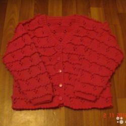 Sweater (sweater), 128 cm, on a puff