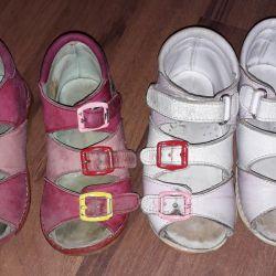 Sandals for orthopedic girl (Tashi-Orto)