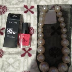 Gel polish and beads