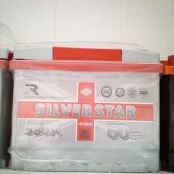 SILVER STAR 60AH 580A battery new