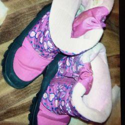 Çocuk kışlık botlar 32