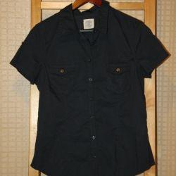 New dark blue shirt H & m, L.O.G.G.