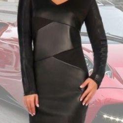 Элегантное , классическое платье .