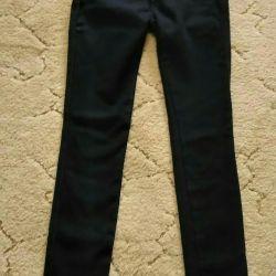 Jeans on fleece High landing