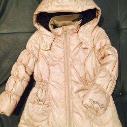 Куртка утеплeнная новая catimini