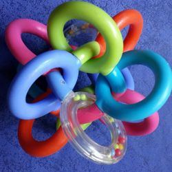 Teether (USA) of silicone rings