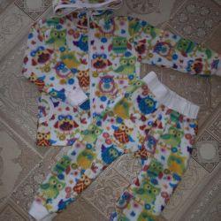 Fleece suit 92-98