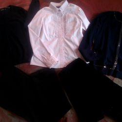 Νέα παντελόνια και πουλόβερ r.Hs / S