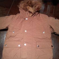 Down jacket 110-116 4-6 years