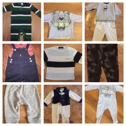 Branded things originals (sizes 3-6 months.)
