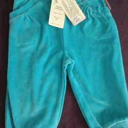 Новые велюровые штанишки фирма КРОКИД
