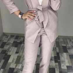The suit is trouser