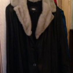 Kullanılmış deri ceket
