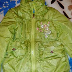 Jacket demi-season on the girl.