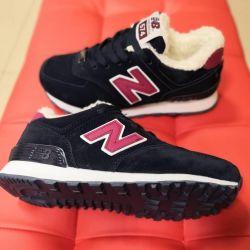 Новые зимние кроссовки