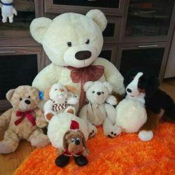 A set of soft toys! Sale!