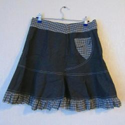 Детская юбка школьная повседневная