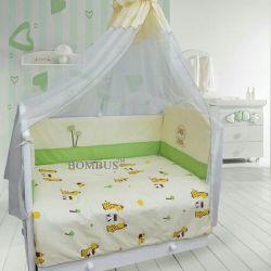Комплект в кроватку «Веселые друзья»