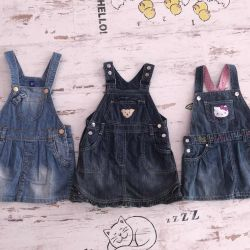 Denim sundresses