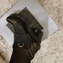 Ankle boots guero leather