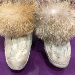 Wolf booties