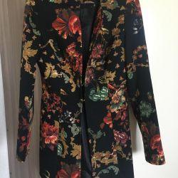 Summer coat, jacquard