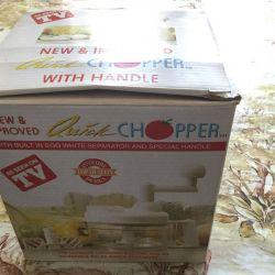 Blender + chopper chopper, - new
