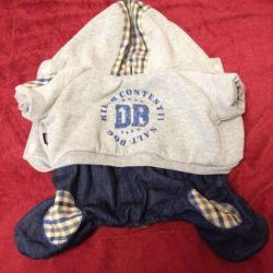 Salopetă pentru pantaloni pitici