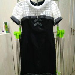 κομψό γυναικείο φόρεμα, μέγεθος 46