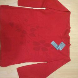 The new jumper (sweater, jacket) size 52-54.