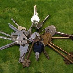 O grămadă de chei pentru idei creative.