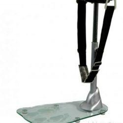 Floor vibrating massager