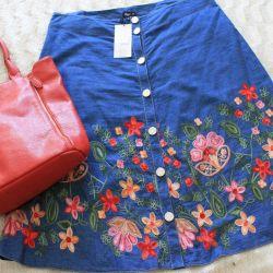 Class skirt 54 p. + Bag.