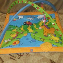 Children's educational mats 2pcs