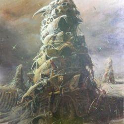 Tuval üzerine yağlıboya tablolar