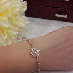 750 gold plated bracelet