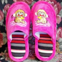 Terlik bebek ayakkabısı terlik 23 cm dış taban