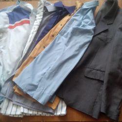 Shirts and jacket