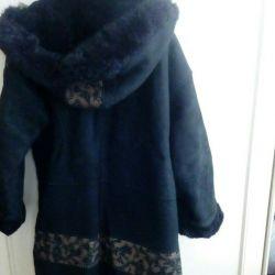 Sheepskin coat. (Turkey)