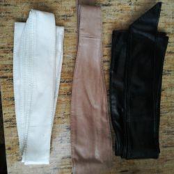 Belt leatherette