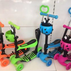 Scooter Musical Scooter 5in1 glowing wheels