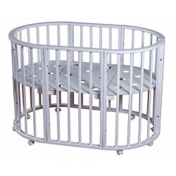 New Oval bed Nicole 3 in 1