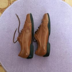 Geox Leather Shoes with Laces 37