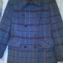 Women's half coat