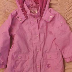 Jachete de două copii pentru Ciraf pentru 110 și 122 cm