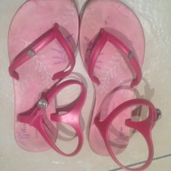 Sandals for the girl