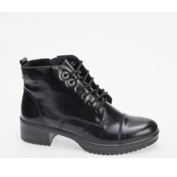 Women's boots from leather new