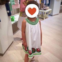 Çocuk elbisesi Parrot Italy
