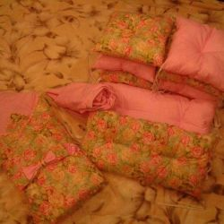 Set of sides and envelope to order