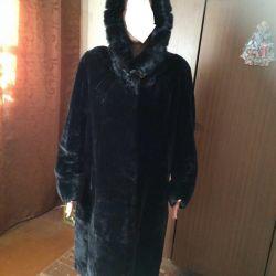 Noua haină de blană muton, r. 58-60